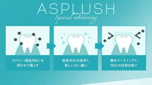 アスプラッシュ歯磨き粉